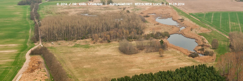 Luftbild Weesower Luch 2014